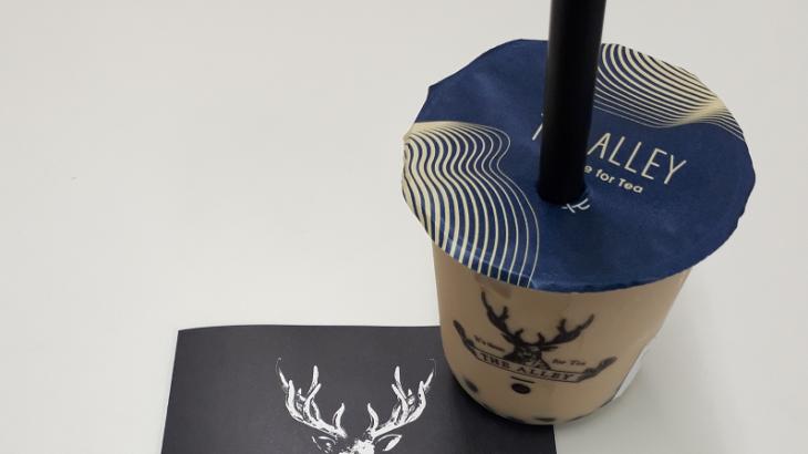 【表参道|カフェ】THE ALLEY(ジ アレイ)でタピオカミルクティー。青山学院大学の青山キャンパスほぼ目の前!