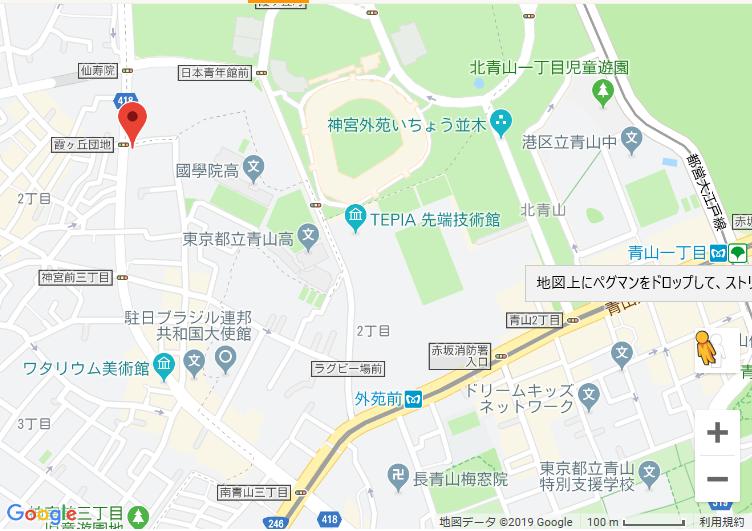 お肉ちゃん 地図