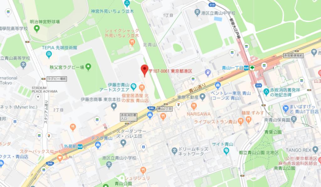 ロイヤルガーデン青山 MAP
