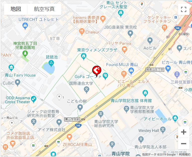 アンカフェ MAP
