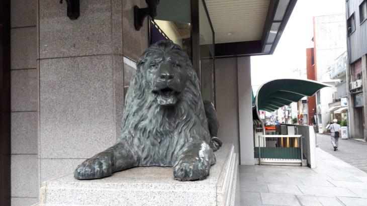 高松三越 ライオンオブジェ