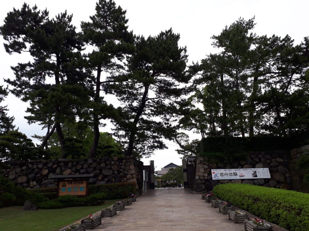 高松城あと