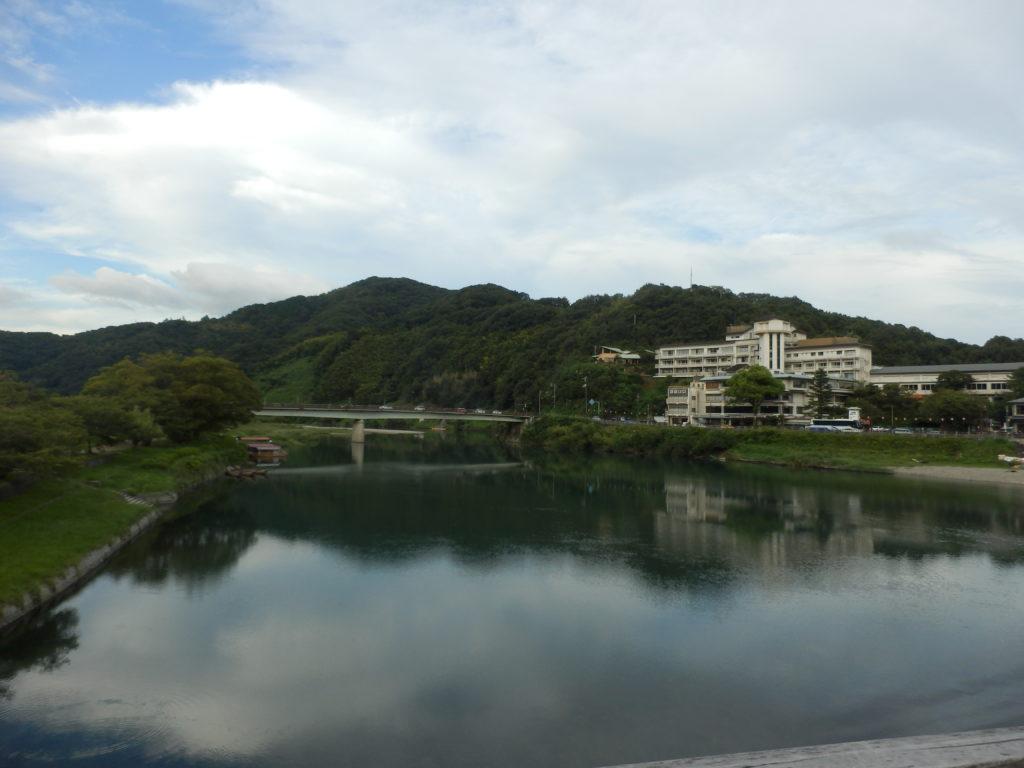 錦帯橋 川