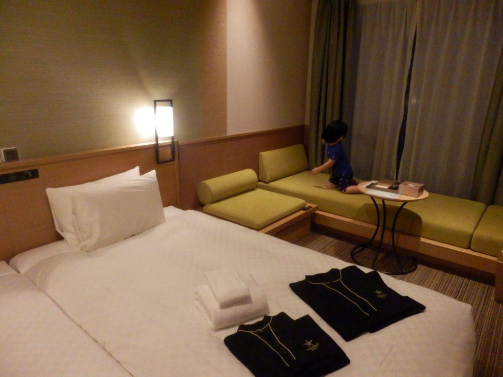 カンデオホテルズ 八丁堀 広島 3人部屋
