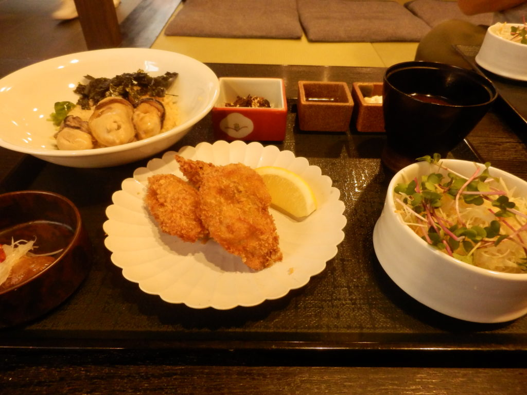 牡蠣屋 特製牡蠣屋定食