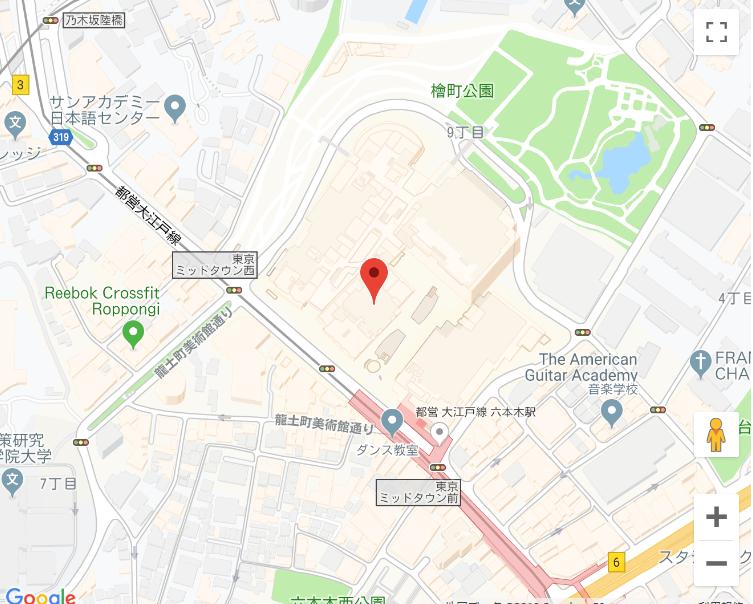 東京ミッドタウン お肉の専門店 スギモト 地図